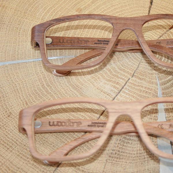 Holzbrillen von Woodone