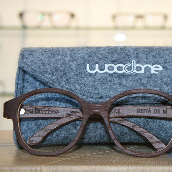 Holzbrille von Woodone