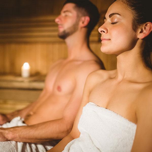 Kontaktlinsen für besondere Anlässe: Sauna