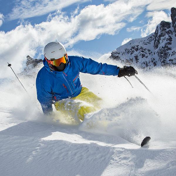 Kontaktlinsen für besondere Anlässe: Wintersport