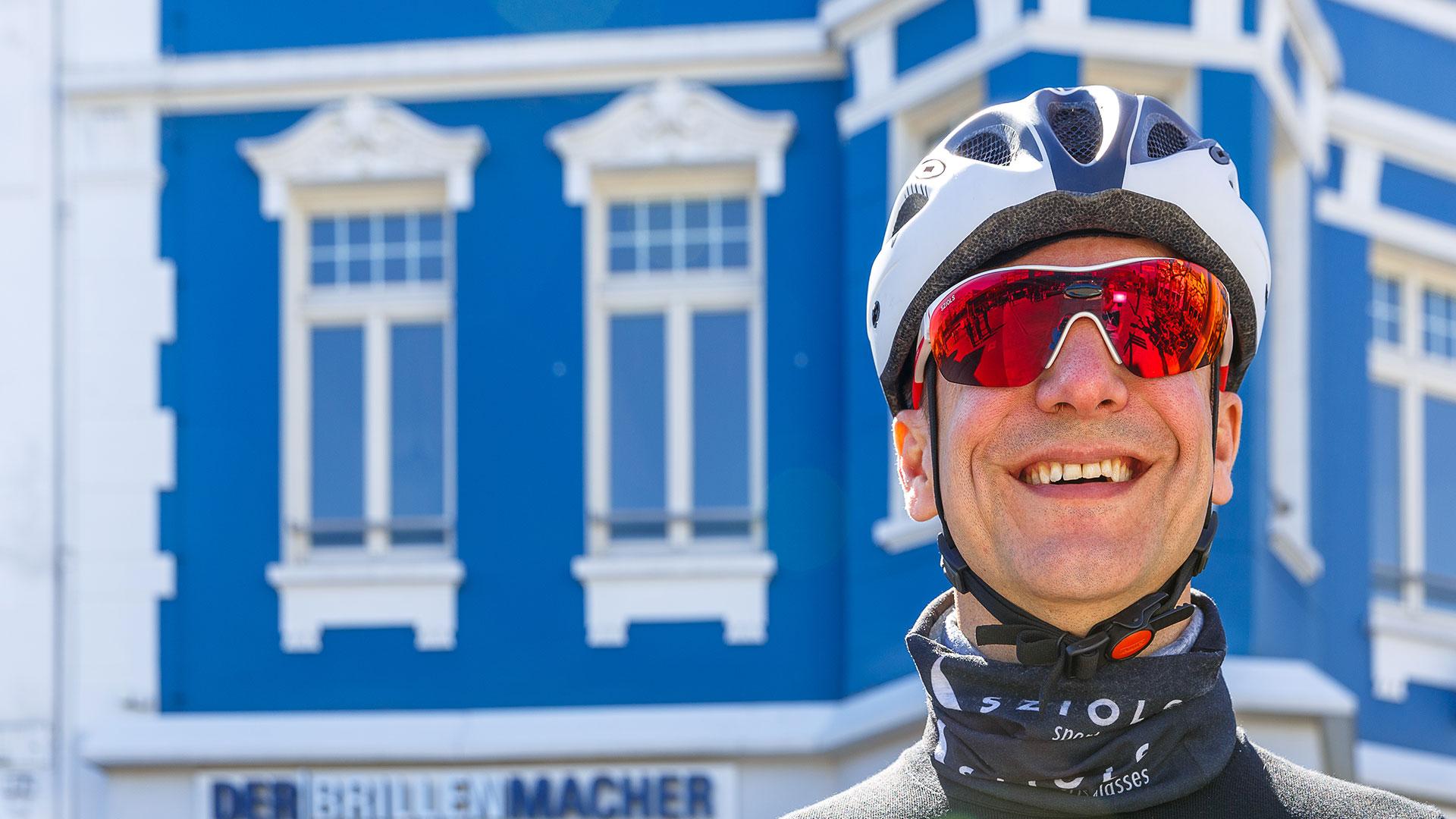 René Cornette bietet auch coole Sportbrillen
